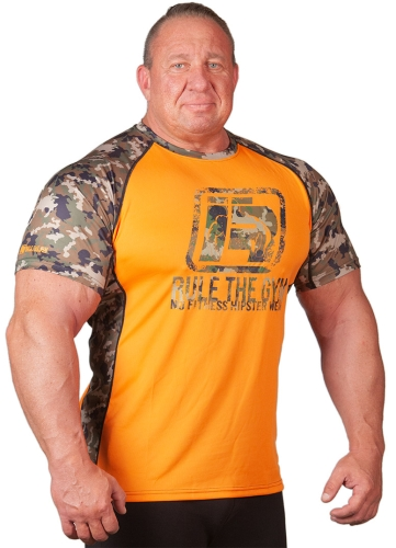 Camo-Shirt (Orange) [Thermo | Funktion]