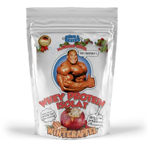 "Whey Protein Isolat ""Winterapfel"" (1kg)"