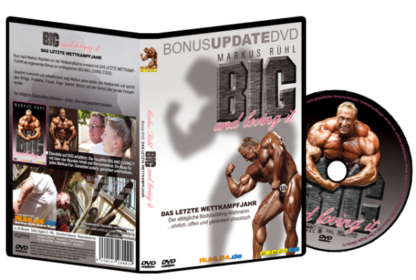 Markus Rühl - Big and Loving it - Bonus-DVD